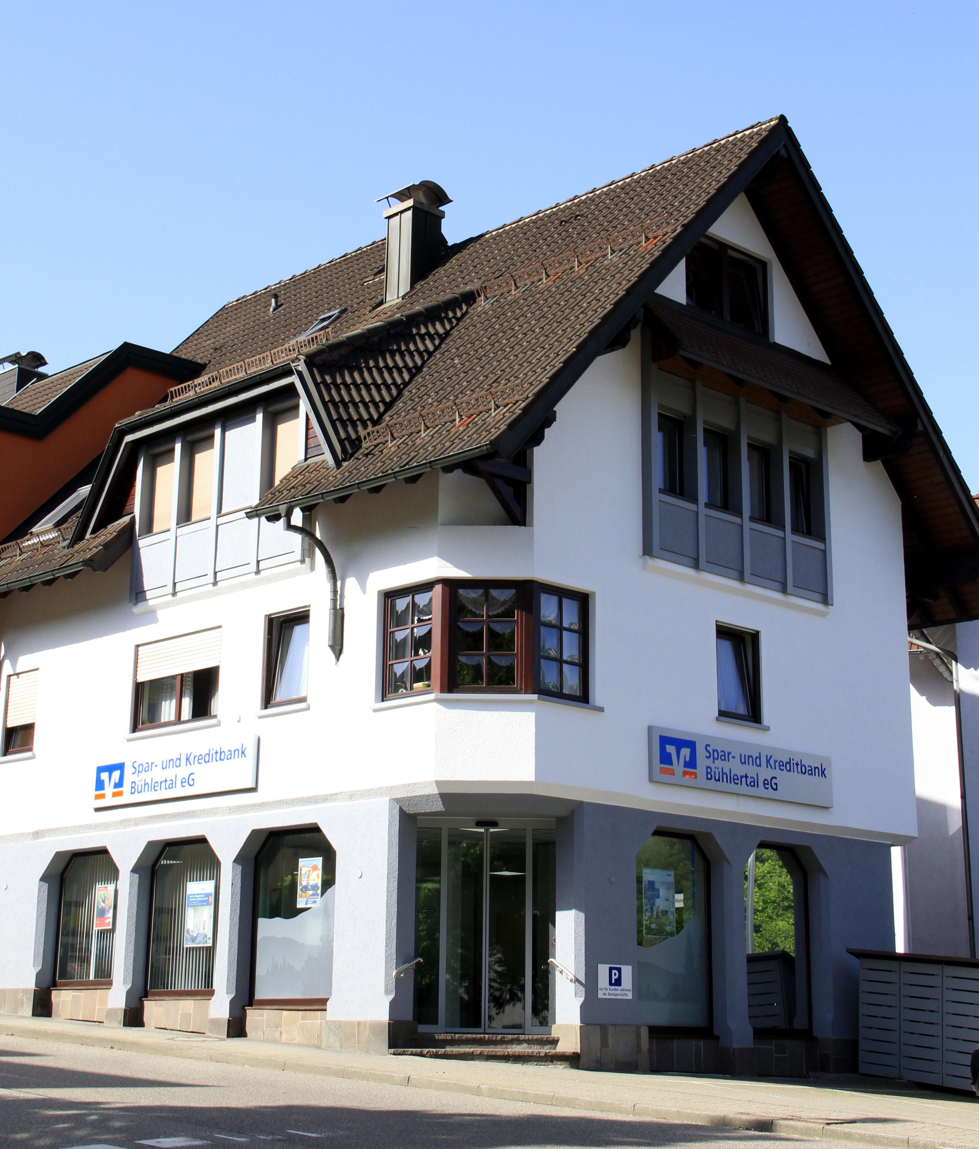 Spar- und Kreditbank Bühlertal, Spar- und Kreditbank Bühlertal eG, Hauptstraße 138, 77830 Bühlertal Obertal